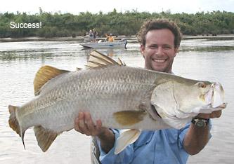 Adelaide River barramundi fishing