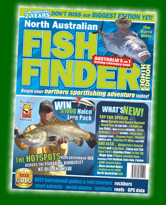 A barramundi fishing book