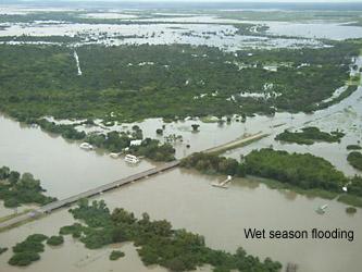 wet season barramundi fishing